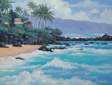 Surfs Up Chun's Reef by Carol Reynolds