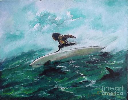 Surfs Up by Donna Chaasadah