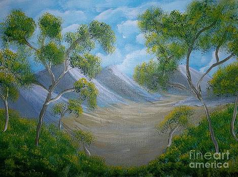 Surreal Valley by Michelle Treanor