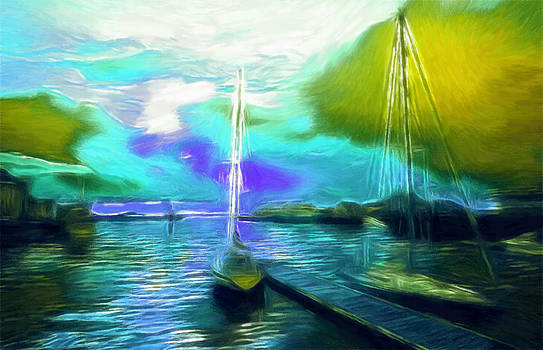 Stefan Kuhn - Surrealism Sailor Pastel