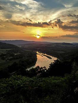 Susquehanna River Valley by Debbie Karnes