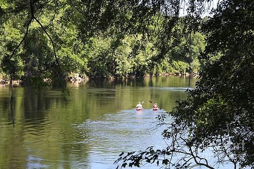 Suwanee River Kayakers by Theresa Willingham