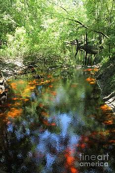 Suwanee River Stained Glass by Theresa Willingham
