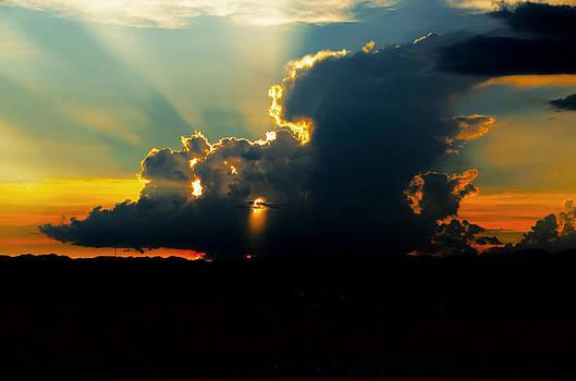 SW Las Vegas Sunset by Arnold Despi