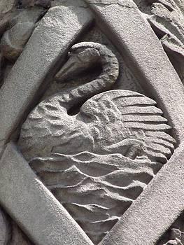 Alfred Ng - swan stone carving