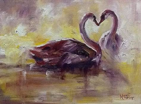 Swans in Rhapsody by Murali Surya