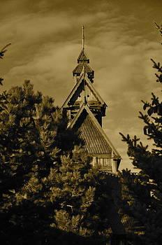 Swedish Church  by Cherie Haines
