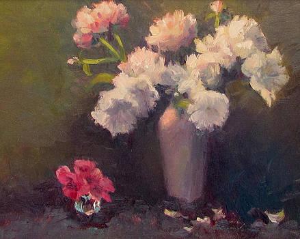 Sweet Peonies by Dianne Panarelli Miller