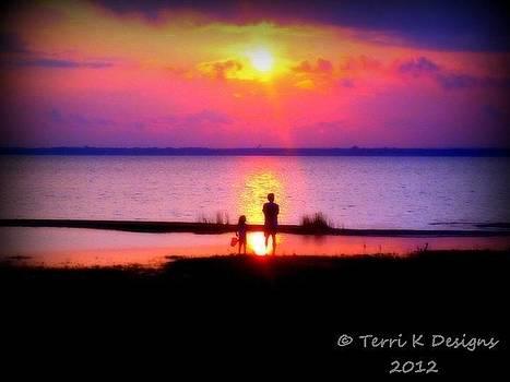 Sweet Sunset by Terri K Designs