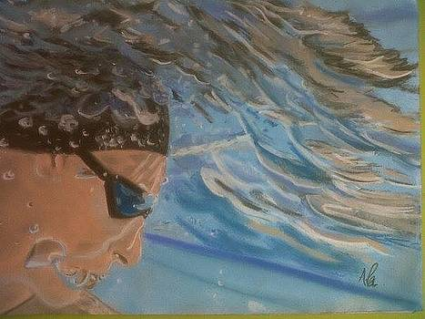 Swimmer by Alessandro Cedroni