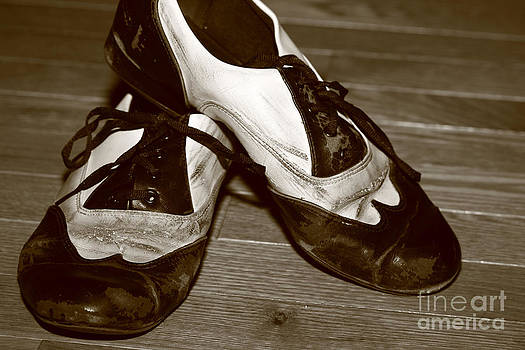 Swing Shoes in Sepia by Deanna Wright