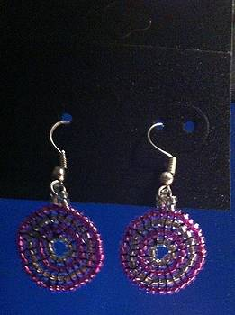 Swirl Earrings by Kimberly Johnson