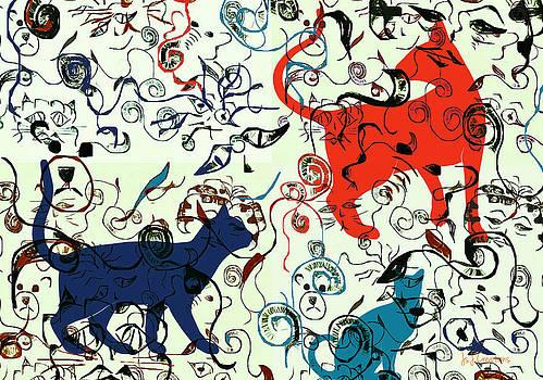 Swirls and Pussycats by Jan Steadman-Jackson