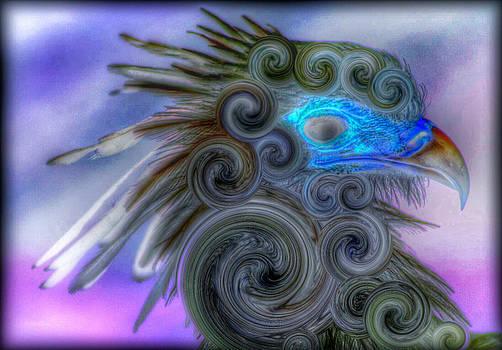 Swirly Bird by Terry Atkins