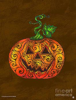 Swirly Pumpkin by Carolina Matthes