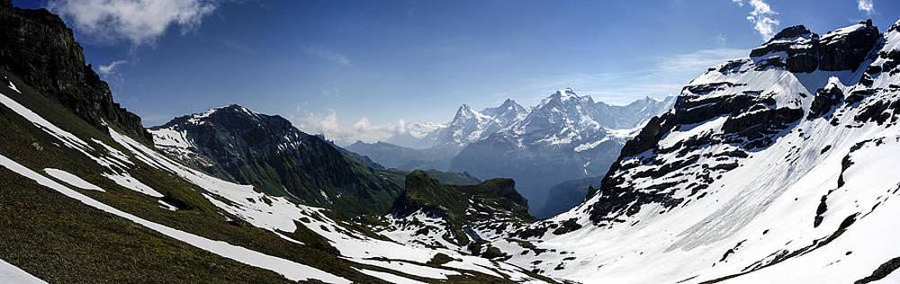 Swiss Alps by Istvan Nagy