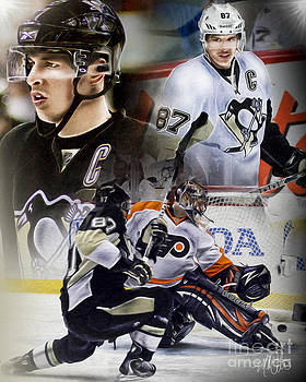 Sydney Crosby by Mike Oulton
