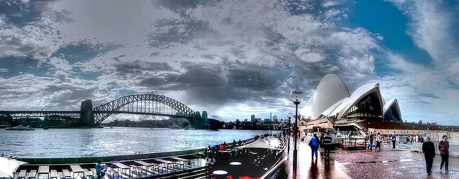 Sydney dariling harbour by Phil May
