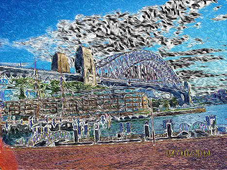 Sydney Harbor Bridge by Gabriel Jeane