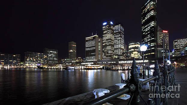 Sydney Harbour I by Tatjana Popovska