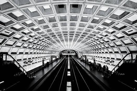 Symmetrical Subway by Justin Williams