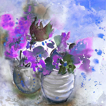 Miki De Goodaboom - Symphony in Blue and Purple