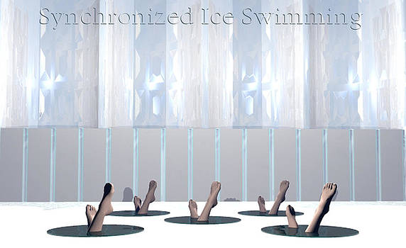 Synchronized Ice Swimming by Mark L Watson