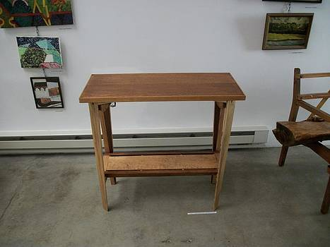 Table w/ Maple Shelf by D Angus MacIver