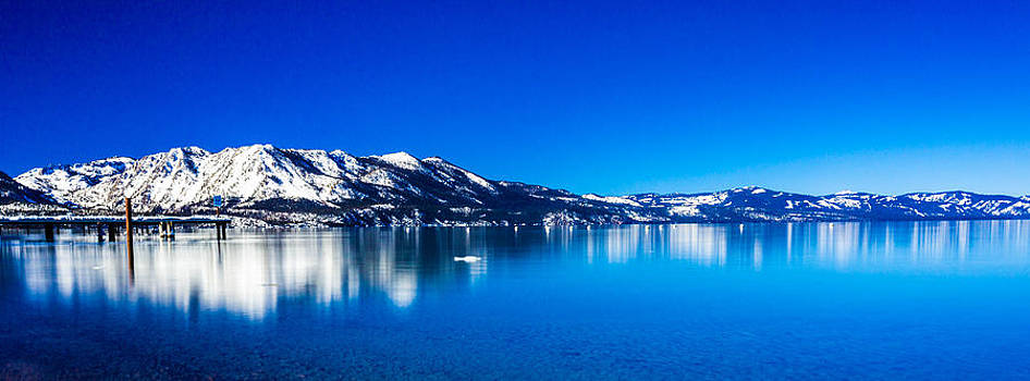 Tahoe Reflection by Mike Lee