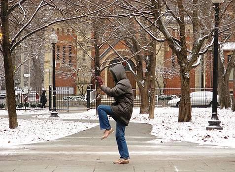 Alfred Ng - tai chi in the winter