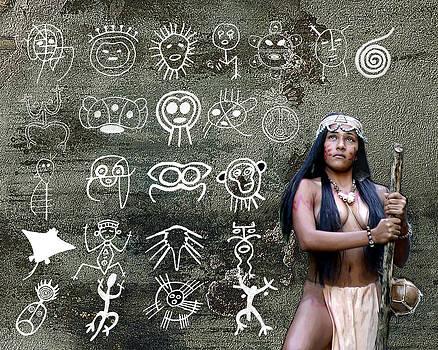 Taino Petroglyphs by Koa Feliciano