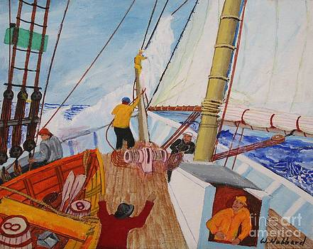 Bill Hubbard - Taking in Sail
