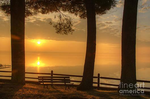 Taking Time for the Sunrise by Marianne Kuzimski