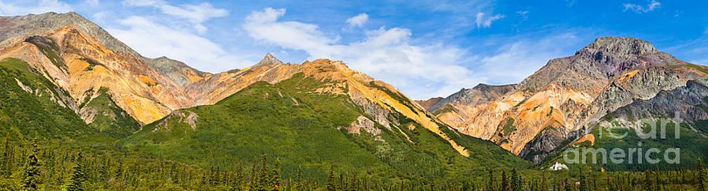 Talkeetna Mountains by Chris Heitstuman