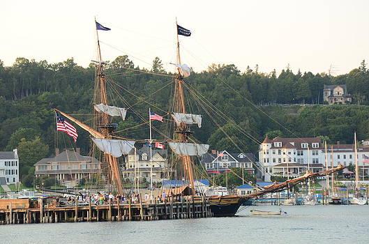 Tall ship by Brett Geyer