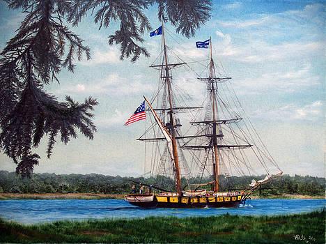 The Tall Ship Niagara by Vicky Path
