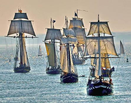 Tall Ships by Geraldine Alexander