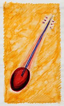 Tambura Violin  by Carrie  Godwin
