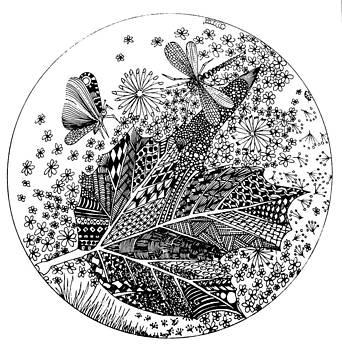 Tangle Leaf by Lissi Lyngsoe