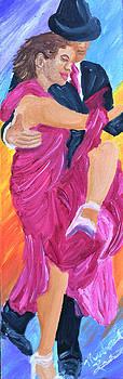 Tango Dancers by Michael Lee