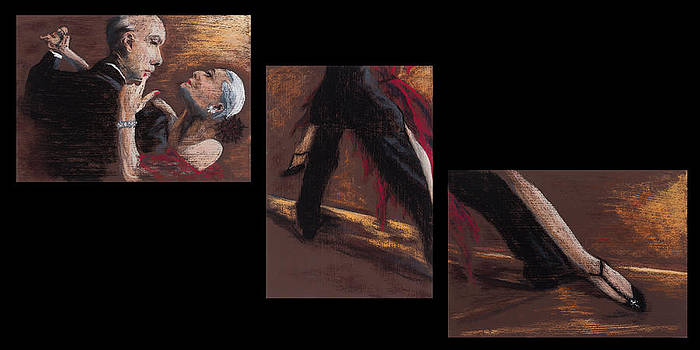 Tango Triptych Three by Jocelyn Paine