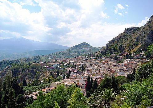 Taormina Italy by Alberto Pala