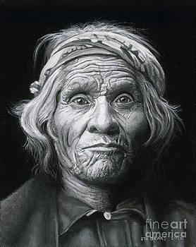 Taos man by Stu Braks
