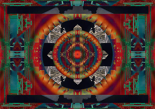 Taos Medicine Wheel by Richard Newman