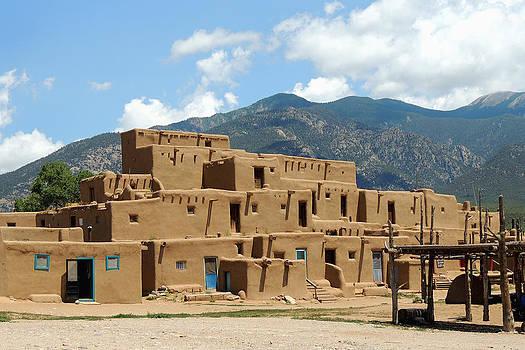 Taos Pueblo by Gordon Beck