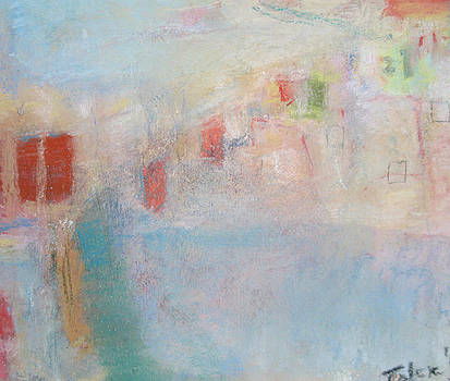 Taos Pueblo in Abstract by  Tolere