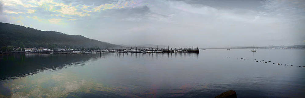 Hudson River View, Piermont, NY by Yuri Lev