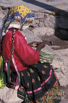 John  Mitchell - Tarahumara Weaver Mexico