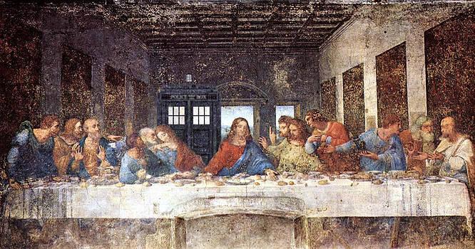 TARDIS v Leonardo Da Vinci by GP Abrajano