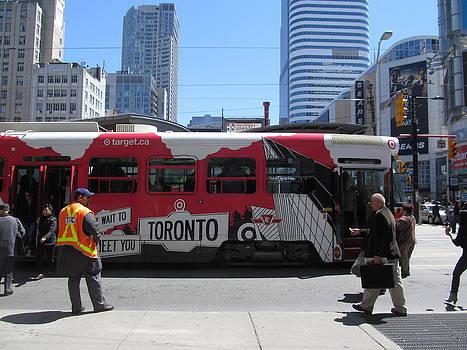 Alfred Ng - Target Streetcar in Toronto